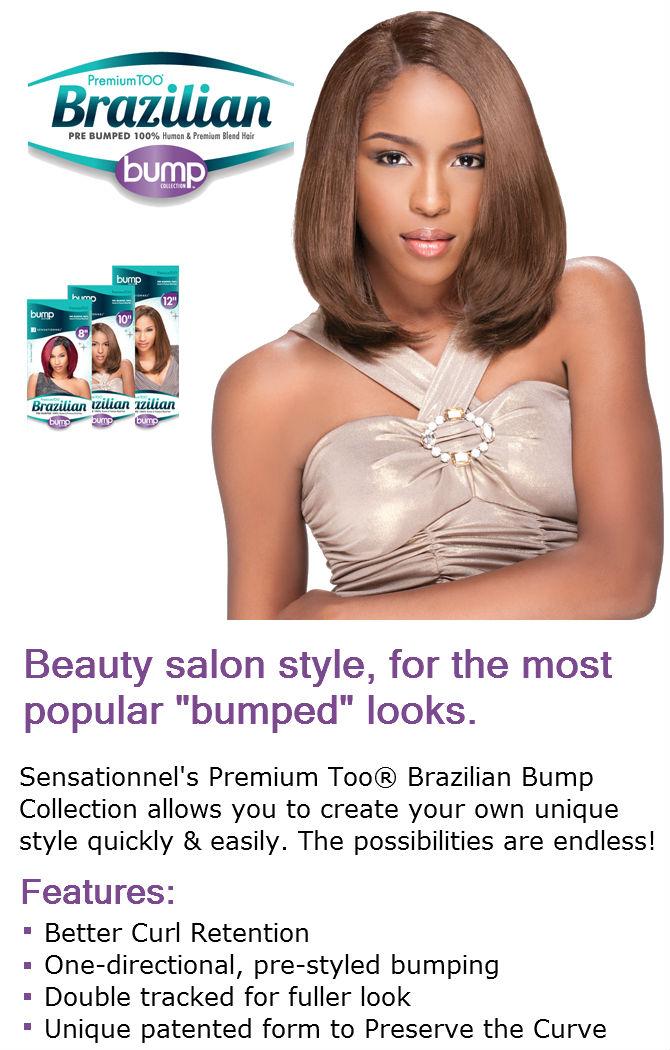 Sensationnel Premium Too Brazilian Yaki Bump Weave 10 Inch