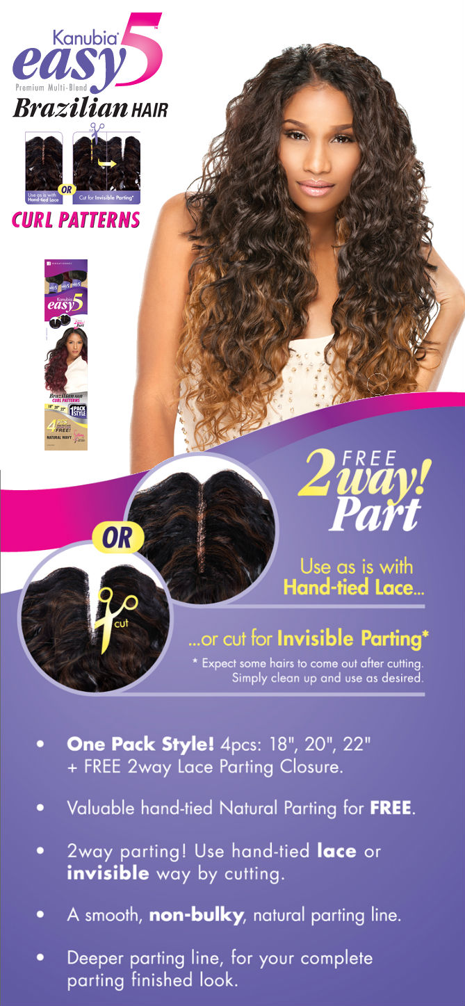 Easy 5 Natural Curly