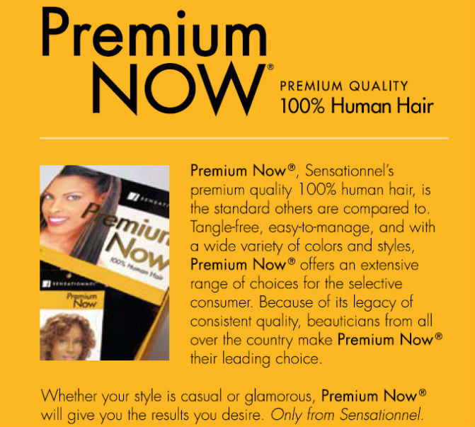 Premium Now Sensationnel Human Hair Yaki