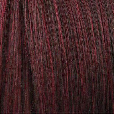 Burgundy Human Hair Wigs